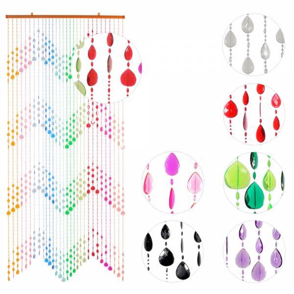 Türvorhang KLUNKER, verschiedene Farben, Kunststoff, 90 x 200 cm