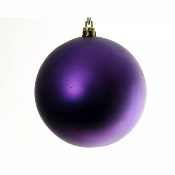 Weihnachtskugel BIG BOWL 6er Set, Farbe: violet