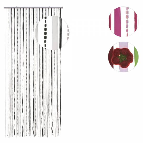 Türvorhang STOFFBÄNDER & PAILLETTEN, verschiedene Farben, Material: Kunststoff, Größe: 90 x 180 cm