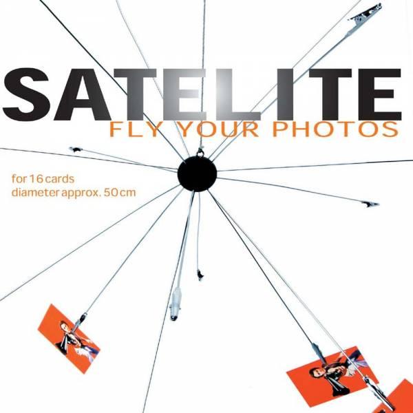 Bilderkugel SATELITE, für 16 Bilder, Durchmesser 50 cm