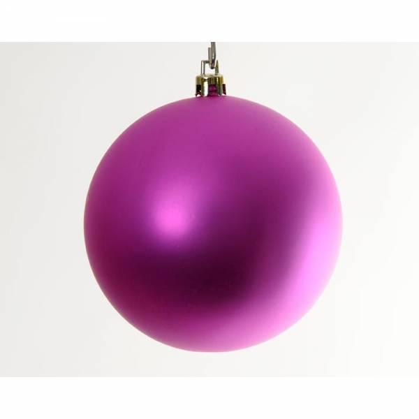 Weihnachtskugel BIG BOWL 6er Set, Farbe: pink