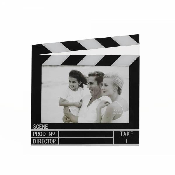 Bilderrahmen FILMKLAPPE 14,5 x 9,5 cm