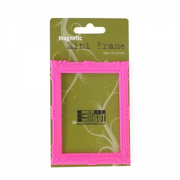 Magnet-Bilderrahmen pink Design: Classic