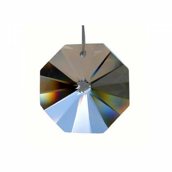 Bleikristall Oktagon, Achteck Größe: 40 mm
