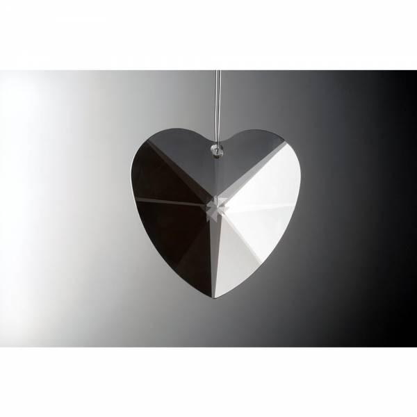 Kristall Herz HERZ KLAR 50 mm, Sonnenschliff