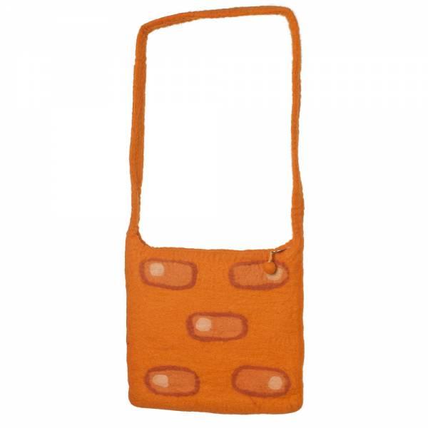 Umhängetasche Retro, 30 x 25 cm Farbe: orange