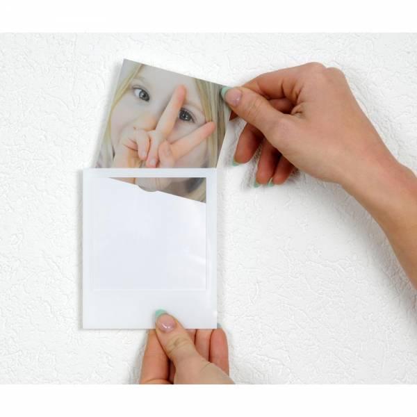 Polaframes selbstklebende Bilderrahmen im POLAROiD-Look, 4er, 8er oder 12 Set