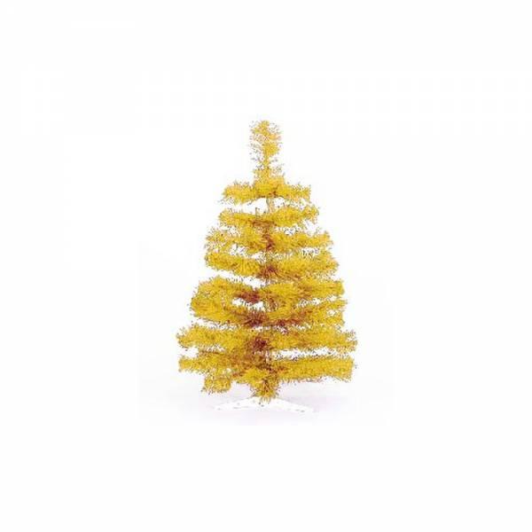 Künstlicher Weihnachtsbaum, farbiger Tannenbaum GOLD - 30 cm, 60 cm ,90 cm, 120 cm, 180 cm, 240 cm