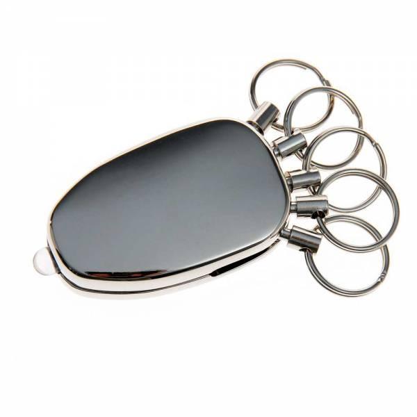 Schlüsselanhänger, mit 5 Ringen und Licht