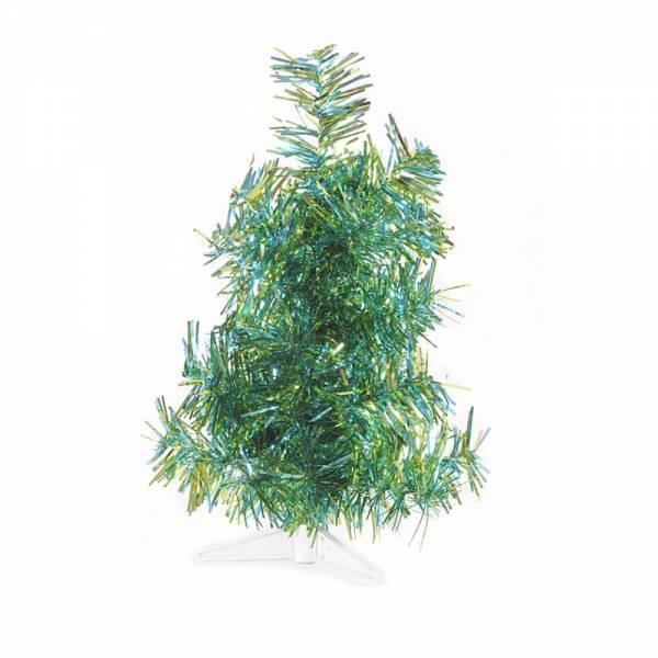 Künstlicher Weihnachtsbaum, farbiger Tannenbaum HELLBLAU - APFELGRÜN METALLIC - 30 cm, 60 cm ,90 cm,