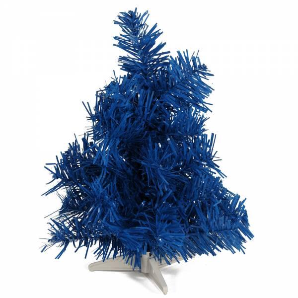 Künstlicher Weihnachtsbaum, farbiger Tannenbaum BLAU - 30 cm, 60 cm ,90 cm, 120 cm, 180 cm, 240 cm