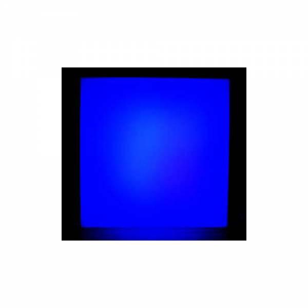 LED Wandpanel, 1 Farbfeld, 40x40x10 cm