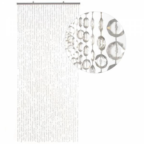 Gardinen und Vorhänge - Türvorhang Form DIAMANTEN Farbe KLAR Material Kunststoff Größe 90 x 200 cm  - Onlineshop Hab und Gut Design