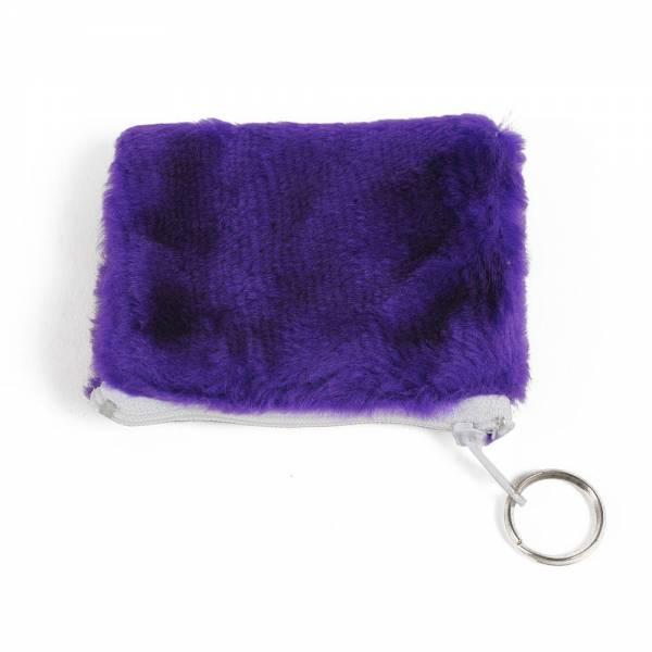 Geldbörse PLÜSCH Farbe: violett