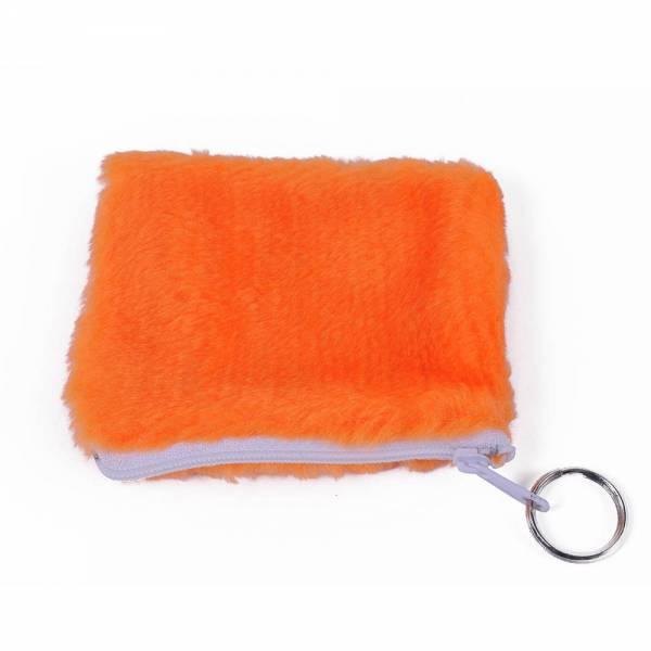 Geldbörse PLÜSCH Farbe: orange