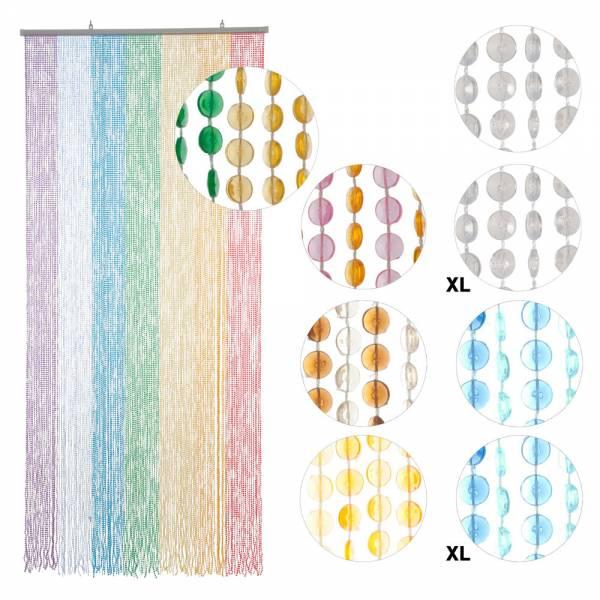 CLEAR Hab /& Gut 90 x 200 cm Door Curtain OVAL DV0221 35,4 x 78,7 inches