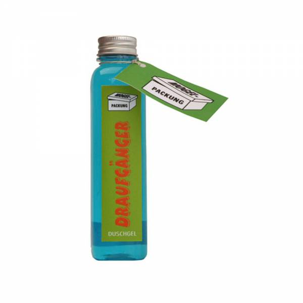 Duschgel mit Aufschrift DRAUFGÄNGER, Inhalt: 200 ml