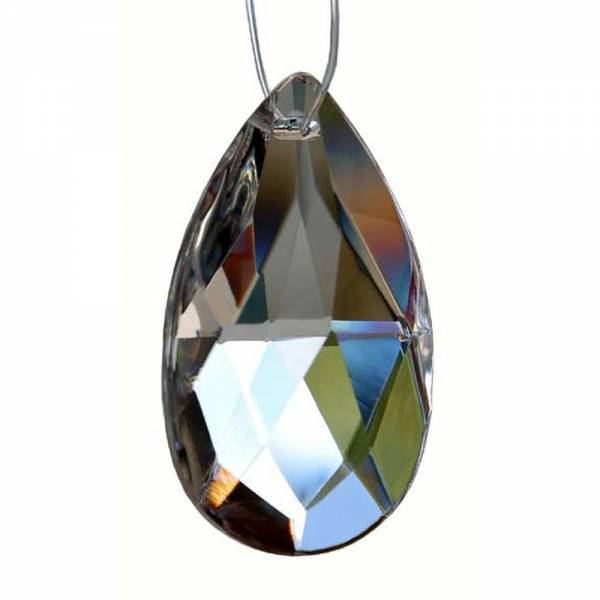 Bleikristall Mandel, Swaro-Schliff 38x22 mm