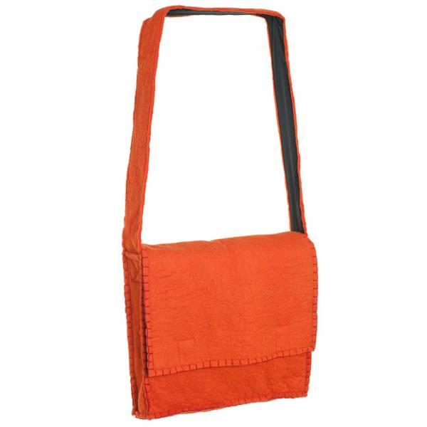 Umhängetasche Filz, Farbe: orange