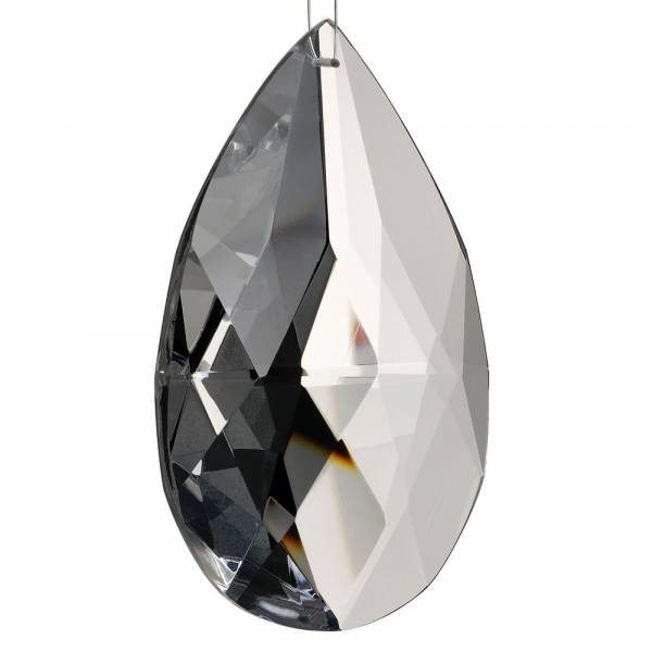 Kristall Mandel, Rautenschliff, 100x58 mm
